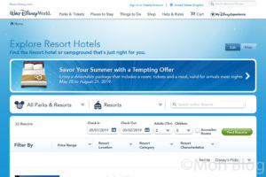 【WDW】直営ホテルの予約方法ー前編ー