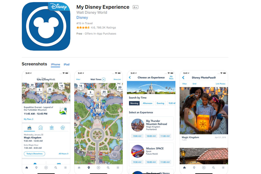 【WDW2019】iPhone・iPad版公式アプリ「My Disney Experience」使い方を解説!
