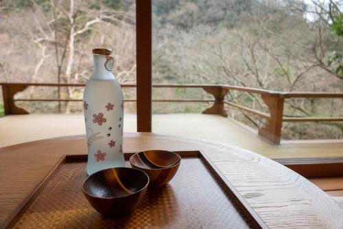 サービスの日本酒